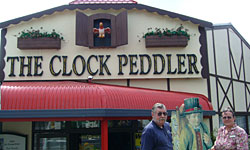 The Clock Peddler in Tirau